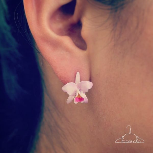 aretes de orquídeas en bogotá