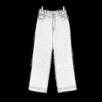 pantalones diseño independiente cool
