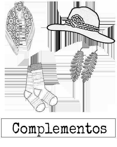 Accesorios y complementos diseño independiente